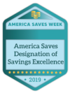 America Saves Week Badge