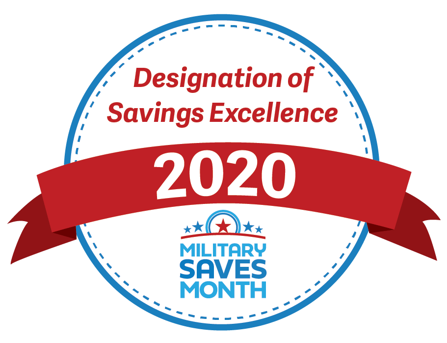 Designation of savings excellence 2020 military saves month